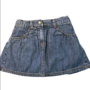 Gymboree Jean skirt